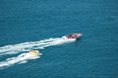 Motorised boat Royalty Free Stock Photos