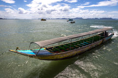 Motorised Longtail Boat, Phuket, Thailand. 