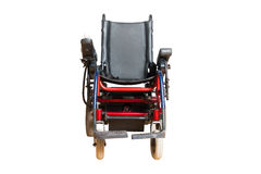 Motorised wheelchair for disposable people Stock Photo