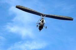 Motorisiertes extremes paraglide Stockfoto