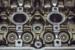 Motorisk motordel för bil Arkivbilder