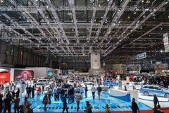 Motorisk show Geneve 2015 Royaltyfri Foto