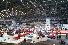 Motorisk show Geneve 2015 Royaltyfri Fotografi