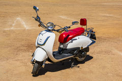 Motorisk sparkcykel Royaltyfri Foto