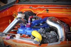 Motorisk tävlings- motor arkivfoton