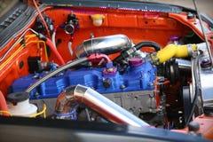 Motorisk tävlings- motor arkivbilder