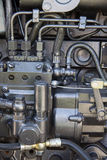 Motorisk traktor Arkivbilder