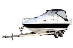 Motorisk yacht Arkivfoto