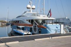 Motorisk yacht Aurelia Royaltyfri Fotografi