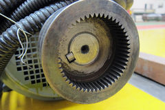 Motoriskt kugghjul Arkivfoton