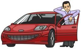 Motorist. Royalty Free Stock Images