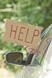 Motorist Needs Help Royalty Free Stock Image