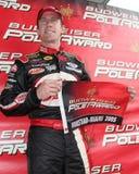 Motorista Csrd Edwards de NASCAR fotografia de stock