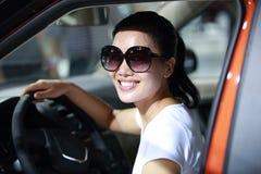 Motorista da mulher Imagens de Stock