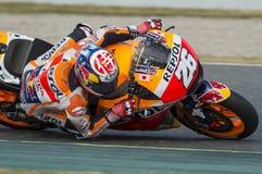 Motorista Dani Pedrosa Equipe de Honda Imagens de Stock Royalty Free