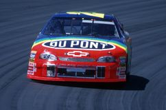 Motorista de carro de corridas de Jeff Gordon NASCAR Fotos de Stock Royalty Free