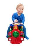 Motorista do bebê Fotografia de Stock
