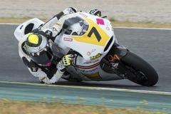 Motorista Iker Lecuona Equipe da experiência da raça Imagem de Stock Royalty Free