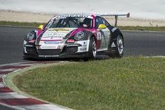 Motorista Joffrey De Narda Team Sebastien Loeb Fotografia de Stock Royalty Free