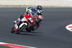 Motorista Ogura, Ai Moto3 Equipe do talento de Ásia FIM CEV Repsol Imagens de Stock