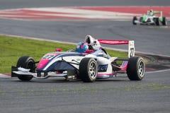 Motorista Theo Coicaud Championnat de França F4 imagem de stock