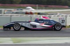 Motorista Theo Coicaud Championnat de França F4 foto de stock