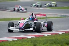 Motorista Theo Coicaud Championnat de França F4 imagens de stock