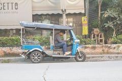 Motoristas do tuk-tuk dos homens Foto de Stock