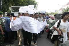 Motorists Protest Action Refuse Vehicle Tariff Increase Stock Photography