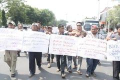 Motorists Protest Action Refuse Vehicle Tariff Increase Public Stock Photo