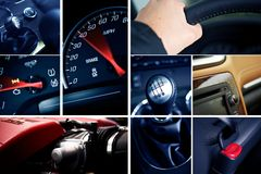 Motorization Mosaic Royalty Free Stock Images