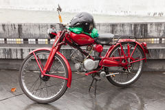 Motorized bicycle Stock Images