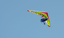 Motorized glider Royalty Free Stock Photography
