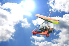 Motorized Hang - Glider Royalty Free Stock Images