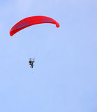 Motorized parapent Royalty Free Stock Photo