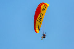 Motorized Parasail Stock Photo