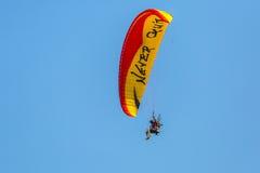 Motorized Parasail Stock Photo