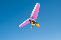 Motorized plane Royalty Free Stock Image