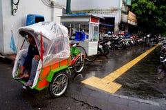 Motorized ricksaw Royalty Free Stock Photo