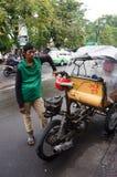 Motorized ricksaw Royalty Free Stock Image