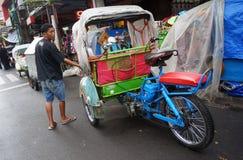 Motorized ricksaw Royalty Free Stock Images