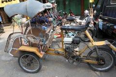 Motorized ricksaw Royalty Free Stock Photography