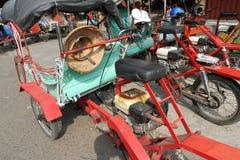 Motorized ricksaw Stock Image