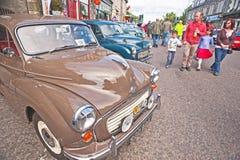 Motormania à Grantown-sur-Spey Image stock