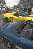 Motormania an Grantown-auf-Spey Lizenzfreie Stockbilder
