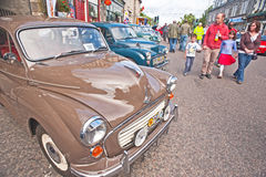 Motormania a Grantown-su-Spey Immagine Stock