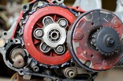 Motormotorfiets Stock Foto