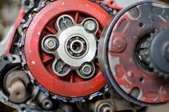 Motormotorfiets Royalty-vrije Stock Fotografie