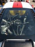 Motorn av en McLaren GT MP4-12C Arkivfoto