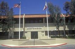 Motorola Corporation building, high tech firm in Cupertino, California Stock Image